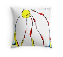 Genesis 1:1-2  Throw Pillow