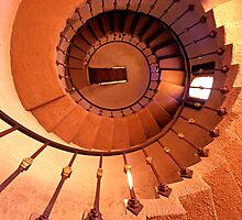 Up the Spiral Staircase by ©  Paul W. Faust