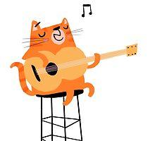 Feline Groovy by tonyneal