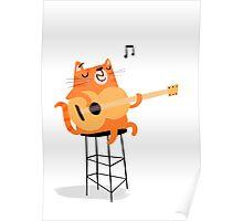 Feline Groovy Poster