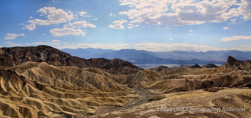 Twenty Mule Team Canyon - Death Valley by JamesA1