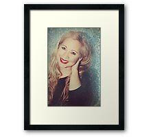 Forty Smiles Framed Print