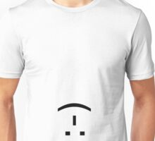 Upside-down, Inside-out Smiley Unisex T-Shirt