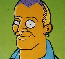 Adam Spencer (after M. Groening) by Donna Huntriss