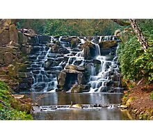 Silky Cascade at Virginia Waters Photographic Print