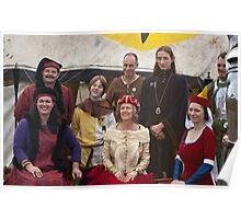 The Medieval Family portrait Poster