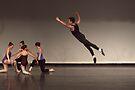 In the air by Alfredo Estrella