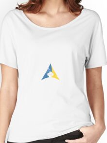 Python Arch Linux Women's Relaxed Fit T-Shirt