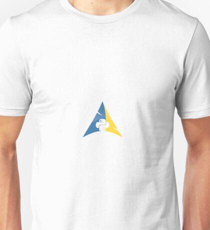 Python Arch Linux Unisex T-Shirt