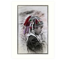 HILLTRIBE BOY Art Print