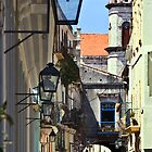 Calle Obispo in Old Havana by Yukondick