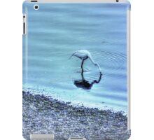 Egret in HDR iPad Case/Skin