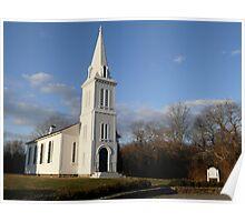 *SOUTH FERRY CHURCH*  - Narragansett - Rhode Island - US *featured Poster