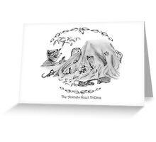 The Animals Greet TriUnia Greeting Card