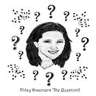 Flitzy Discovers 'The Question'! by Cathie Sherwood