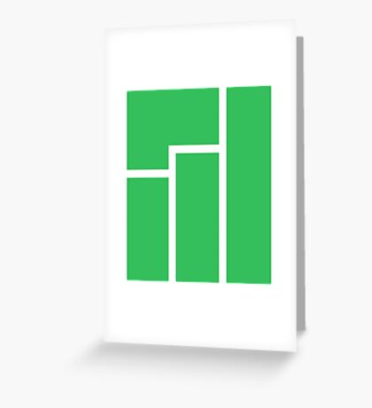 Manjaro Linux Greeting Card