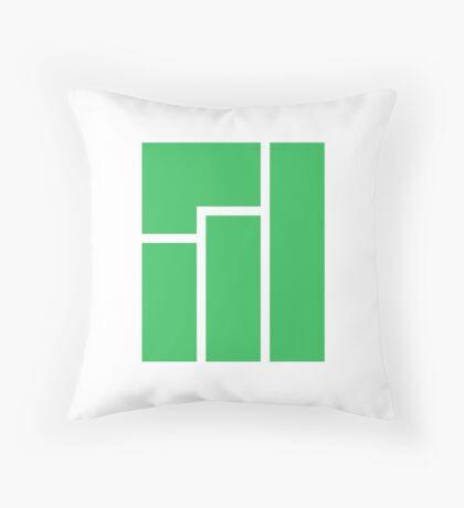Manjaro Linux Throw Pillow