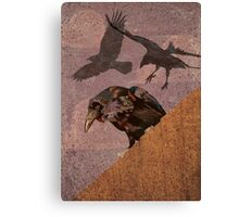Grimey Crows Canvas Print