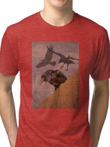 Grimey Crows Tri-blend T-Shirt