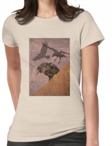 Grimey Crows Womens Fitted T-Shirt