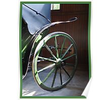 A One Horse Power Buggy Poster