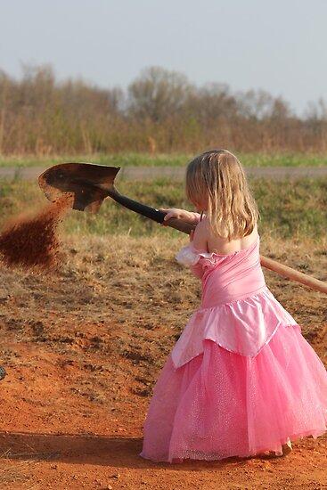 Cinderella at Work by DebbieCHayes