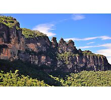 Blue Mountain Icons Photographic Print