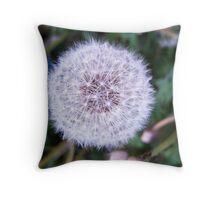 Nature's Disco Ball Throw Pillow
