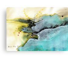 Abstract ink Canvas Print