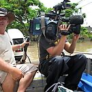 Brisbane Floods 2011 - Inundation - The Media  by Neil Ross