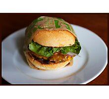 Burger! Photographic Print