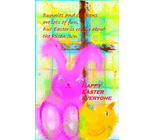 An Easter Wish for All My Friends Photographic Print