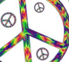 Peace Now Sticker