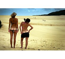 Beach Bums Photographic Print