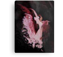 Bailaora in pink dancing Metal Print