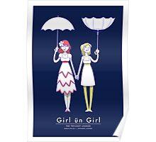 Girl un Girl - Reykjavik Poster