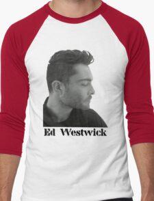 Ed Westwick Men's Baseball ¾ T-Shirt