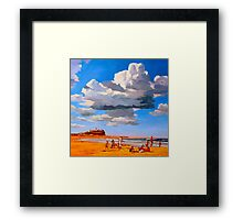Nobby's Beach Framed Print