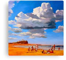 Nobby's Beach Canvas Print