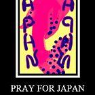 Pray for Japan by Charldia
