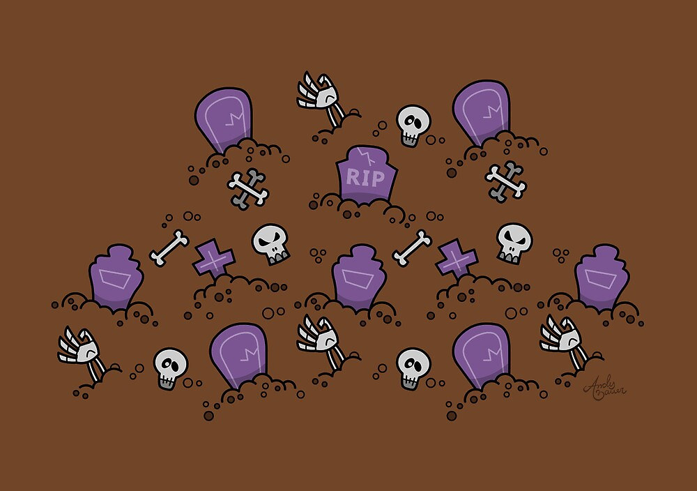 Tombs & Bones by Andy Bauer