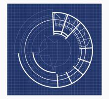 Blueprint Prototype Shield One Piece - Short Sleeve