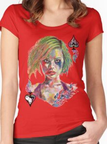 Harley Joker Women's Fitted Scoop T-Shirt