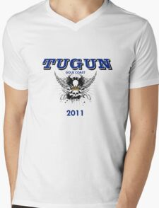 TUGUN 2011 Mens V-Neck T-Shirt