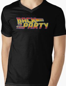 Back to the Party !  Mens V-Neck T-Shirt