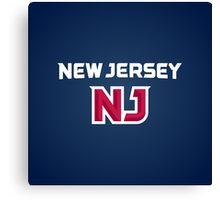 New Jersey Canvas Print