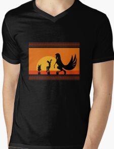 Hercules Sunset Mens V-Neck T-Shirt
