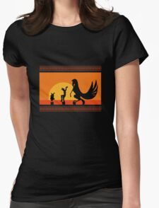 Hercules Sunset Womens Fitted T-Shirt