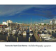 Townsville Yacht Club Marina by Paul Gilbert