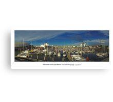 Townsville Yacht Club Marina Canvas Print